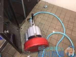 尼崎市塚口町の排水口のつまり修理では…