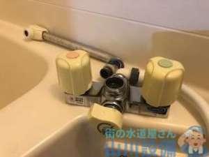 大阪市西淀川区姫島の浴室シャワー水栓水漏れ修理2018.9.1