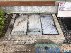 奈良県生駒郡斑鳩町法隆寺南 グリストラップ排水つまり