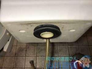 依頼はトイレタンクが詰まってるやけどそうじゃないパターン 大阪市中央区道頓堀