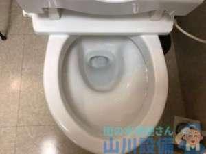 トイレ排水不良 詰まってはないが流れにくい TOTO SH670BA
