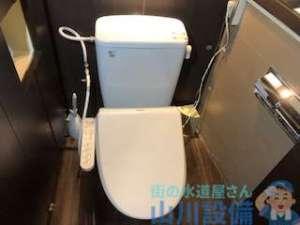 トイレタンクレバーの鎖がゴムフロート根元で切れた DIYで修理する