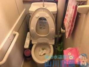 大阪府八尾市志紀町西のトイレの流れが悪いと感じたら山川設備にお任せ下さい。