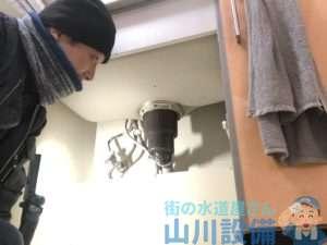 寝屋川市上神田の排水栓の水漏れは山川設備にお任せ下さい。