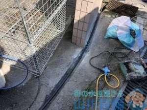 豊中市東泉丘で水道管の新設配管工事は山川設備にお任せ下さい。