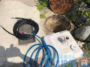 八尾市南亀井町で排水管を洗管作業するなら山川設備にお任せ下さい。
