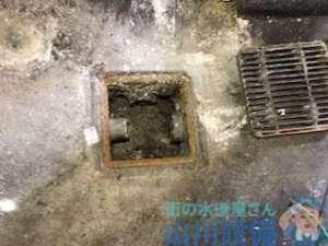 八尾市南亀井町の厨房内の排水桝が詰まっていたら山川設備にお任せ下さい。