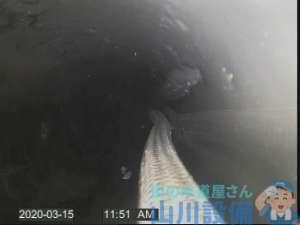 大阪市生野区中川で管内カメラを使った洗管作業は山川設備にお任せ下さい。