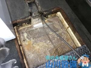 東大阪市高井田本通で排水管の通管作業は山川設備にお任せ下さい。