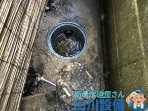 大津市神領で排水桝の洗浄清掃は山川設備にお任せ下さい。