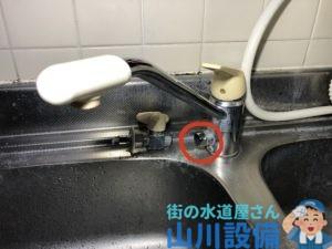 生駒市真弓南の水漏れは山川設備にお任せ下さい。