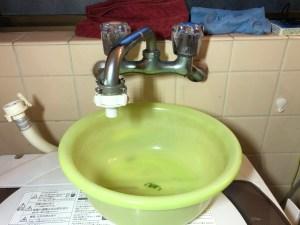 東大阪市吉田本町で洗濯蛇口の水漏れは山川設備にお任せ下さい。