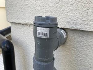 大東市三箇で掃除点検口から排水管の高圧洗浄は山川設備にお任せ下さい。