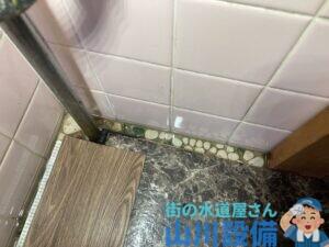 四條畷市岡山東でトイレの床から水が逆流したら山川設備にお任せ下さい。