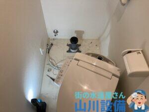 大阪市西区立売堀で便器の脱着作業は山川設備にお任せ下さい。