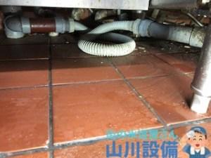尼崎市、東大阪市で排水蛇腹ホースから水漏れしたら山川設備に連絡下さい