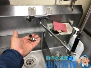 大阪府大阪市、東大阪市の蛇口の水漏れ修理は山川設備にお任せ下さい。