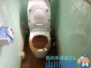 羽曳野市、東大阪市でタンクレストイレが詰まったら山川設備が対応します。