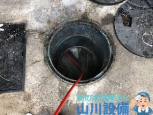 大阪府寝屋川市高柳で高圧洗浄するなら山川設備に連絡下さい。