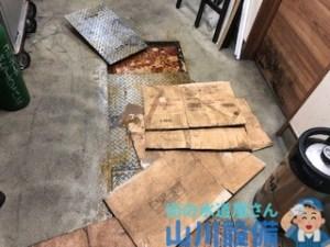 大阪府大阪市住之江区西住之江の店舗の排水つまりは山川設備に連絡下さい!