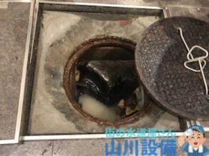 大阪府大阪市住之江区西住之江で排水マスから水が溢れ出したら山川設備にお任せ下さい!