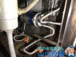 奈良県奈良市針町のフレキ管の交換は山川設備にお任せ下さい。