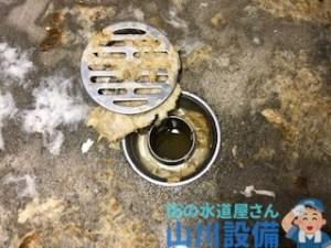 大阪府大阪市西区江戸堀の土間排水口も逆流したら山川設備にお任せ下さい。