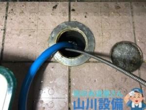 大阪府門真市一番町の掃除点検口から通管作業するなら山川設備に連絡下さい。