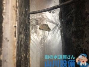 兵庫県神戸市西区池上で10mmのワイヤーを使って通管作業するなら山川設備に連絡下さい。