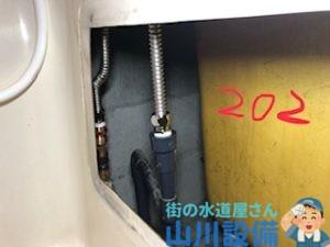 大阪府八尾市若林町のフレキ管の施工は山川設備にお任せ下さい。