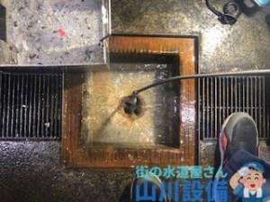 兵庫県高砂市松陽で10mmのワイヤーを使った通管作業するなら山川設備に連絡下さい。