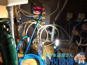 大阪府大阪市中央区道頓堀でドリンクカウンターの水のトラブルは山川設備にお任せ下さい。