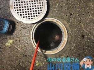 奈良県奈良市大森町の各枝管の洗管作業は山川設備にお任せ下さい。