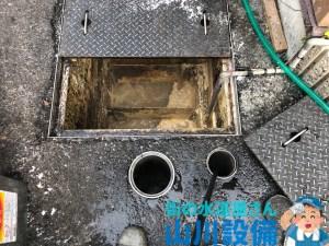和泉市納花町でドロップ桝から汚水管の高圧洗浄するなら山川設備に連絡下さい。