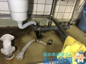 大阪市北区中之島で排水蛇腹ホースの交換は山川設備にお任せ下さい。