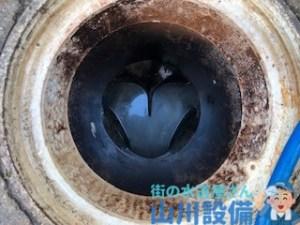 奈良市柏木町で排水管の高圧洗浄は山川設備にお任せ下さい。