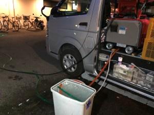 橿原市葛本町で高圧洗浄するなら山川設備にお任せ下さい。