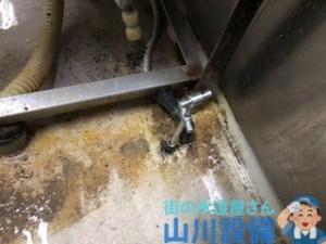 大阪市住之江区北加賀屋で断水器を使った止水作業は山川設備にお任せ下さい。