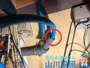 寝屋川市香里新町で配管清掃は山川設備にお任せ下さい。