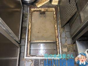 奈良県北葛城郡王寺町王寺のグリストラップが溢れたら山川設備にお任せ下さい。