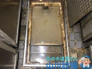 奈良県北葛城郡王寺町王寺でグリストラップの水位が上がってきたら山川設備にお任せ下さい。