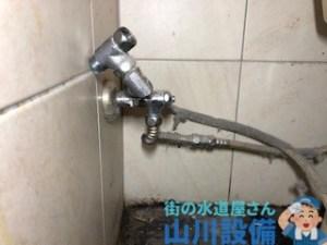 大阪市住之江区南加賀屋でウォシュレットのホースからの水漏れを応急処置するなら山川設備にお任せ下さい。