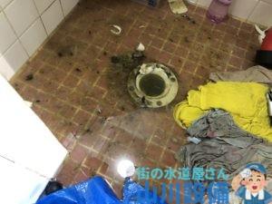 高槻市富田町で排水管の詰まりは山川設備にお任せ下さい。
