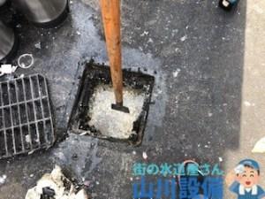 小野市黒川町で排水溝が溢れたら山川設備にお任せ下さい。