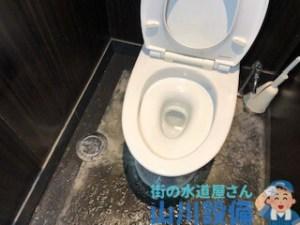 寝屋川市香里新町で掃除点検口からの通管作業は山川設備にお任せ下さい。