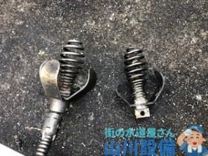 小野市黒川町でブレードカッター75での通管作業は山川設備にお任せ下さい。