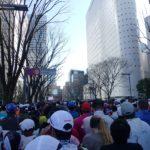 東京マラソン2017スタート時