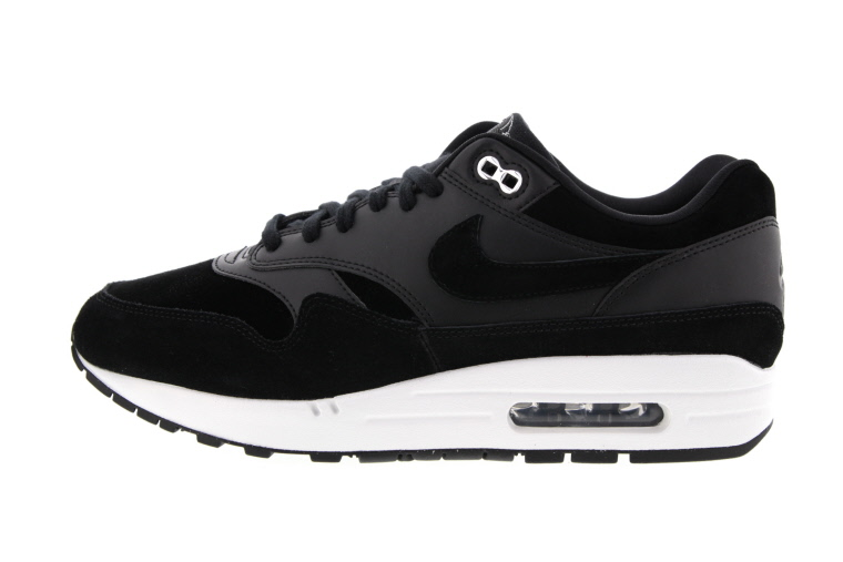 Nike Air Max 1 Schwarz Chrome Skulls 875844 001