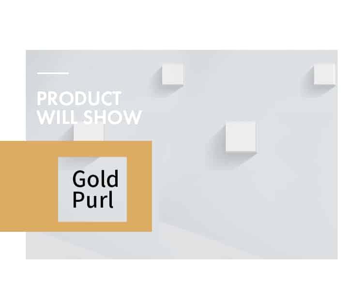 Gold Purl Grosgrain Ribbon
