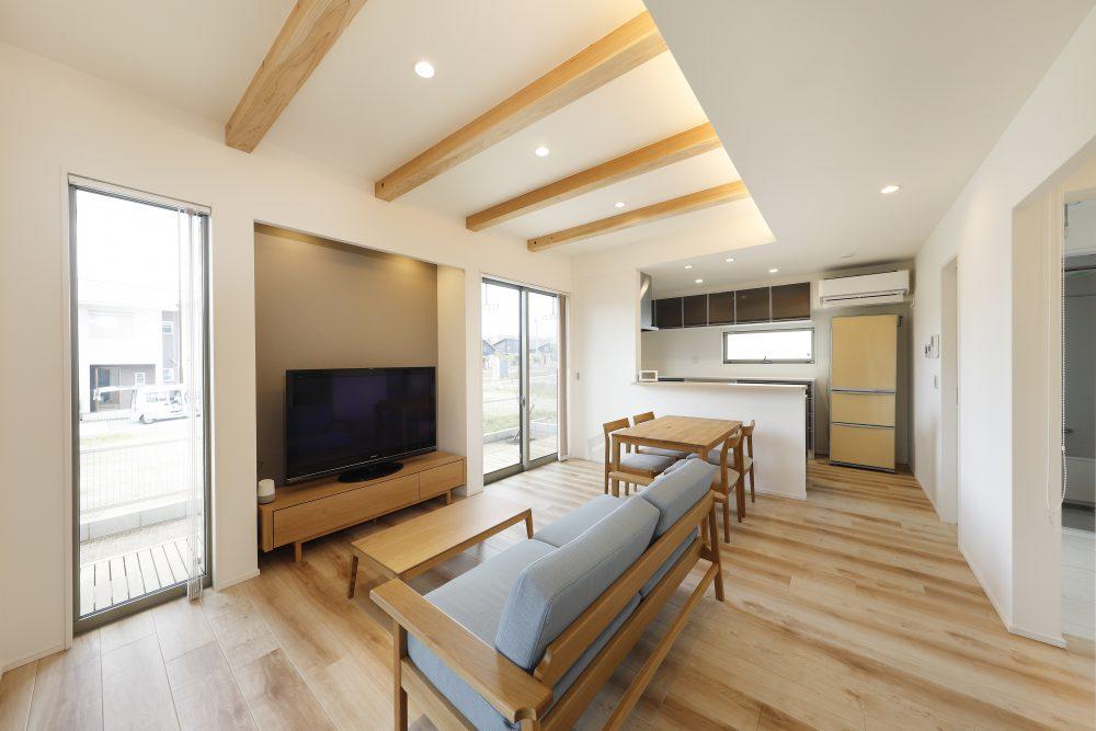 パルタウン大明丘モデルハウス 2階建 4LDK(No1区画)